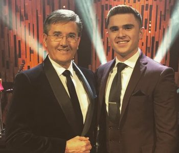 David with Daniel O'Donnell at Opry le Daniel