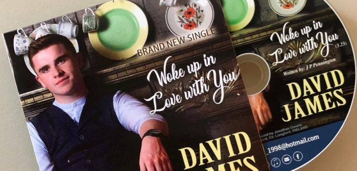 David James New Single - Woke up in Love with You