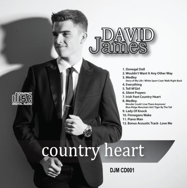David James - Country Heart Album Cover